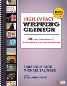 High Impact Writing Clinics by Sara Holbrook and Michael Salinger